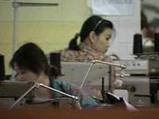체코에서 일하는 북한 여자들